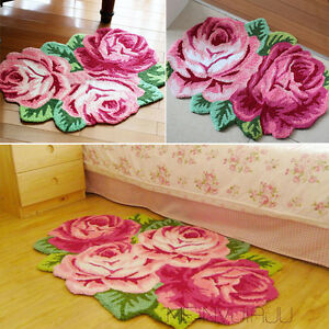 Image Is Loading Uk New Country Style Roses Fl Hand Embroidery