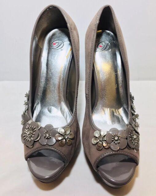 "Women's Platform Shoes Size 8.5 Stiletto 5"" High Open Toe High Heels"