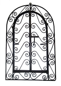 Details About Wrought Iron Wall Frame Grille Plaque Rustic Art Moroccan Indoor Outdoor Decor