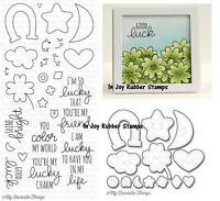 My Favorite Things Lucky Clearly Sentimental Stamp Set Cs107a
