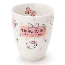 Hello Kitty Tea Cup Sushi Mug Sakura 2017 ❤ Sanrio Japan