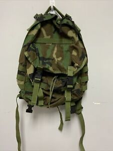 US ARMY USGI Woodland MOLLE II 3 Day Assault Pack Backpack