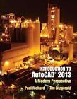 Introduction to AutoCAD 2013 von Jim Fitzgerald und Paul Richard (2012, Taschenbuch)