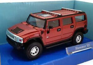 Cararama-1-43-escala-430-Hummer-H2-Metalico-Rojo-Profundo