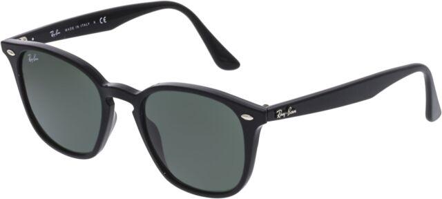 96b9832176b Ray-Ban RB4258 601 71-50 Sunglasses Propionate Black Green Classic Lenses