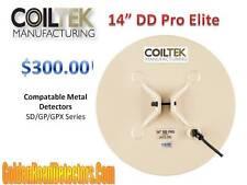"CoilTek 14"" DD Pro Elite Coil For Minelab SD/GP/GPX"