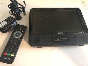 "Philips 9"" DTV Digital TV Built in HDTV Tuner & FM Portable Television"