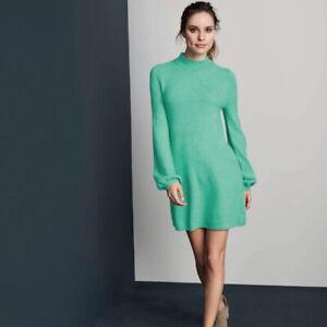 Avon-mujeres-senoras-puente-de-verano-manga-campana-vestidos-de-punto-suave-tamano-22-24