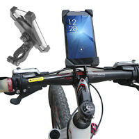 Bicycle Bike Cycling 3.5-7 Cell Mobile Phone Holder Mount Handlebar Gps Bracket
