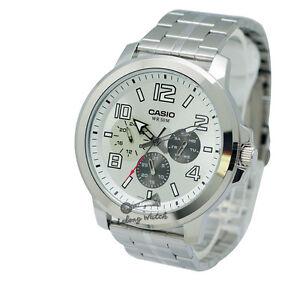 Casio-MTPX300D-7A-Men-039-s-Metal-Fashion-Watch-Brand-New-amp-100-Authentic