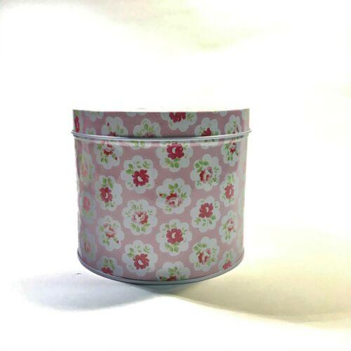 Round Mini Flower Tin Box Retro Vintage Trinket Jewelry Coin Candy Tea Storage