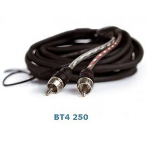 CONNEXION-Audison-BT4-250-4-CANAUX-CABLE-RCA-250-cm-multicanal-RCA-cable
