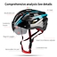 miniature 5 - Ultralight Cycling Helmet Unisex Adult Mountain Bike Bicycle Helmet with Goggles