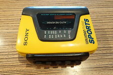 Sony WM Walkman MC Cassette Stereo WM BF59 Sport . Kassette Player . (52)