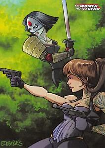 KATANA-amp-STARLING-DC-Comics-The-Women-of-Legend-BASE-Trading-Card-62