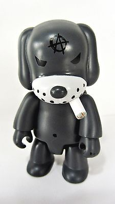 "GRAY CAT Smoking ANARQEE Frank Kozik 2.5/"" figure keychain Smash The State"