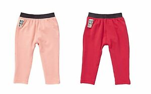 BONDS-BABY-BOY-GIRL-SKINNIES-PANTS-THICK-WARM-TRACKIES-SIZE-000-2-RED-ORANGE