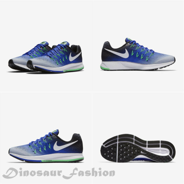 6f49017b4c3 Nike Air Zoom Pegasus 33 Mens Running Shoes 14 Paramount Blue Grey ...