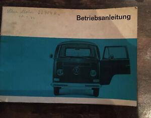 VW-Transporter-T2-Bedienungsanleitung-1968-Betriebsanleitung-Handbuch