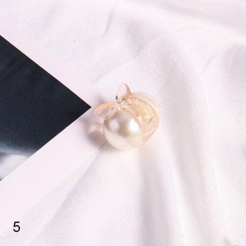 Fashion Hair Accessories Vintage Bun Maker Women Hair Clip Pearl Metal Hairpins