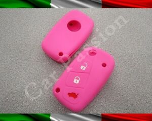 Guscio chiave cover lancia silicone y ypsilon musa rosa key shell gomma ebay - Lancia y diva rosa ...
