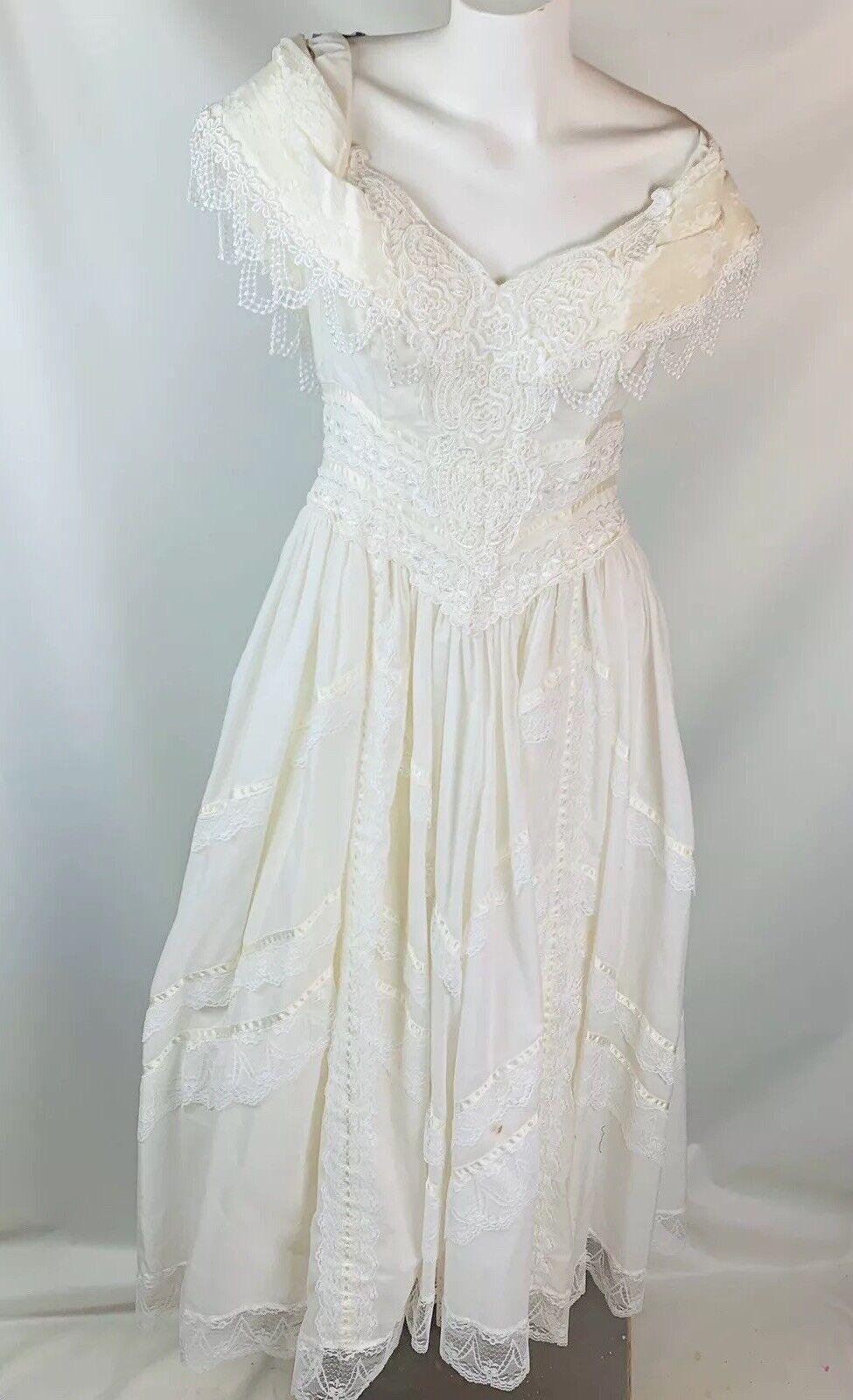 Jessica McClintock Bridal Gunne Sax Women's vinta… - image 2
