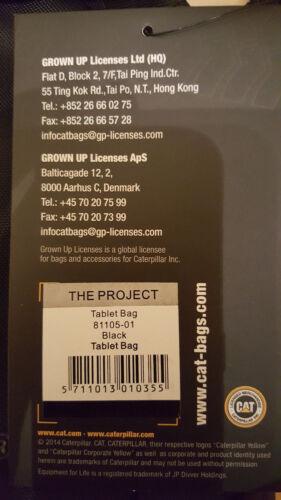 NUOVO BNWT Autentico Da Uomo Caterpillar CAT Tablet//Borsa a Tracolla Nero £ 11.99 RRP £ 20