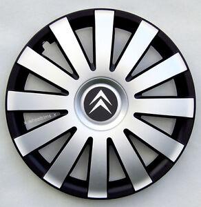 "Set of 4x16"" wheel trims to fit CITROEN C4 XSARA PICASSO C5 C8 DISPATCH BERLINGO"