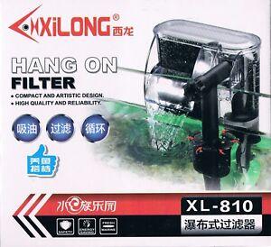 Filtro de cascada mochila acuario de bajo consumo 180L/H bomba 2W CERTIFICADO