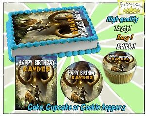 Awesome Far Cry Primal Edible Cake Toppers Picture Sugar Tops Paper Funny Birthday Cards Online Alyptdamsfinfo