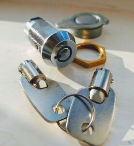 Key-Switch-Spring-Return-Momentary-SPST-1-Position-2-Keys-amp-Plastic-Cover