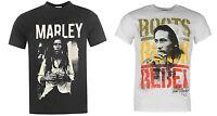 T-shirt Homme Bob Marley Officiel S/m/l/xl 100% Coton