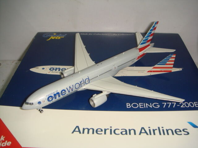 Gemini Jets 400 American Airlines AA B777-200ER  OneWorld Coloree  1 400