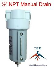 12 Compressed Air Line Moisture Amp Water Filter Trap Air Compressor Iee
