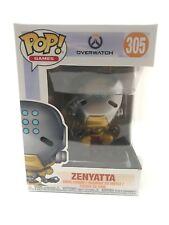 FUNKO POP ZENYATTA OVERWATCH GAMES #305 AUTHENTIC SIGNED AUTOGRAPHED IN HAND