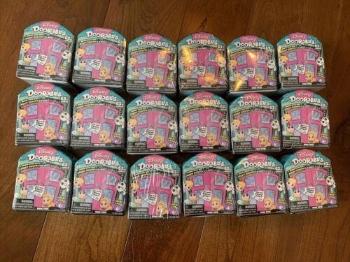 Disney Series 4 Doorables Mini Peek Figures Lot Of 3 each box holds 2-3 figures