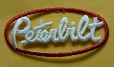 Brand new PETERBILT embroidery patch iron on jacket shirt logo