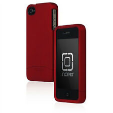 Incipio Apple iPhone 4 4S Edge Pro Hard Cover Shell Slider Carrying Case Red