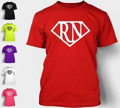 Nurse Superhero T-Shirt RN LPN Superman Medic EMT Pride Love Hero Tee Shirt NEON