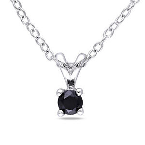 Amour-1-6ct-tdw-black-diamond-solitaire-pendant-w-chain-silver