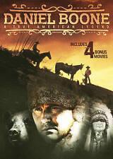 Daniel Boone: A True American Legend - Includes 4 Bonus Movies (DVD, 2016) NEW