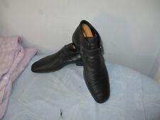 Roberto BOTTICELLI MADE IN ITALY Uomo Nero Pelle bootlike. TG UK 7