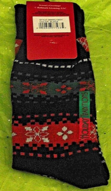 Mens Bah Hum Pug Design Mens Black Socks UK 5-12