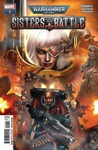 Warhammer 40k Sisters of Battle #1 (of 5) Comic Book 2021 - Marvel