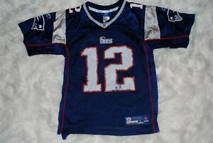 Reebok #12 Tom Brady New England Patriots NFL Jersey (Youth Large ...