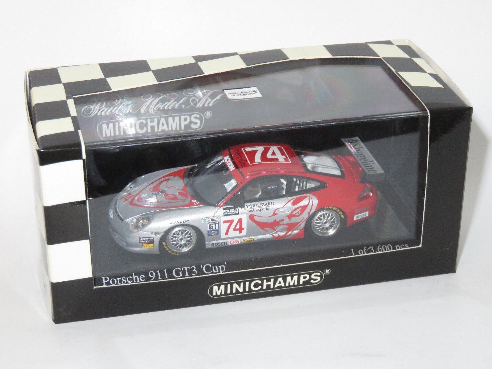 1 43 Porsche 911 GT3 Cup  Flying Lizard  Daytona 24 Hrs 2004