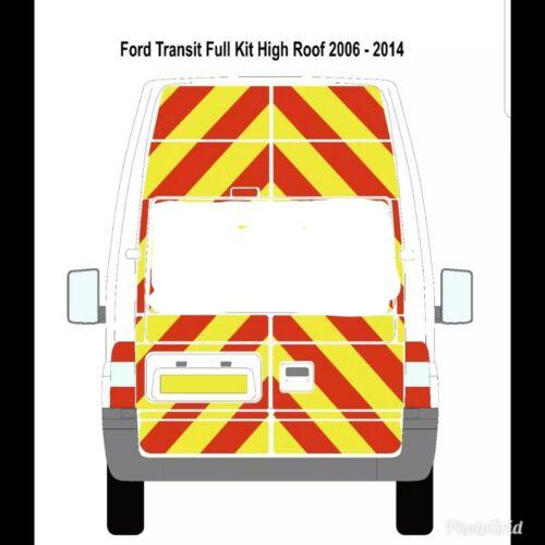 Ford Transit High Roof Chevron Kit 2006-2014 3//4 Kit.