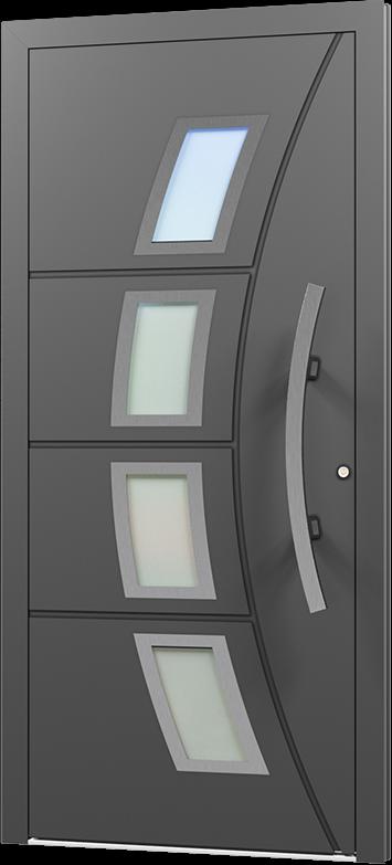 Exklusiv Elegant Außentür Haustür Tür Eingangstür DIN rechts / / / links, Aluminium 881e32