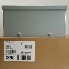 NEMA 3R Hoffman A6624RT Wire Trough 6 x 6 x 24 Galvanized Paint Finish