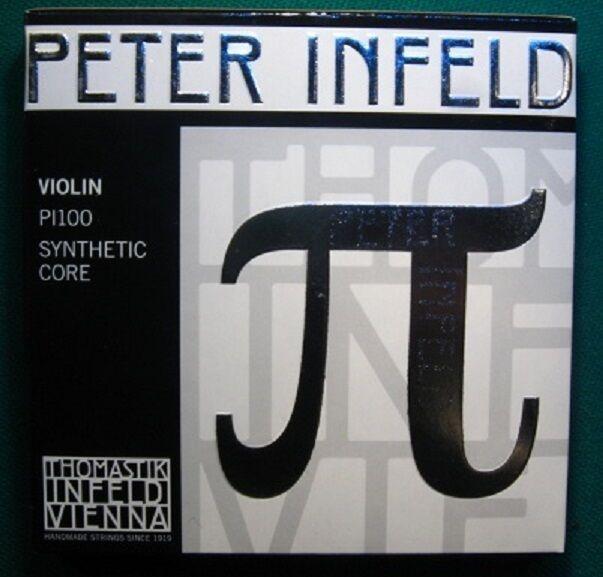 Thomastik PI100 Peter Infeld-Saiten kompl.Satz mit E-Platin     4 4-Violine,